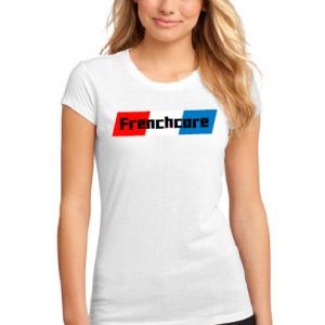 t shirt frenchcore vrouw