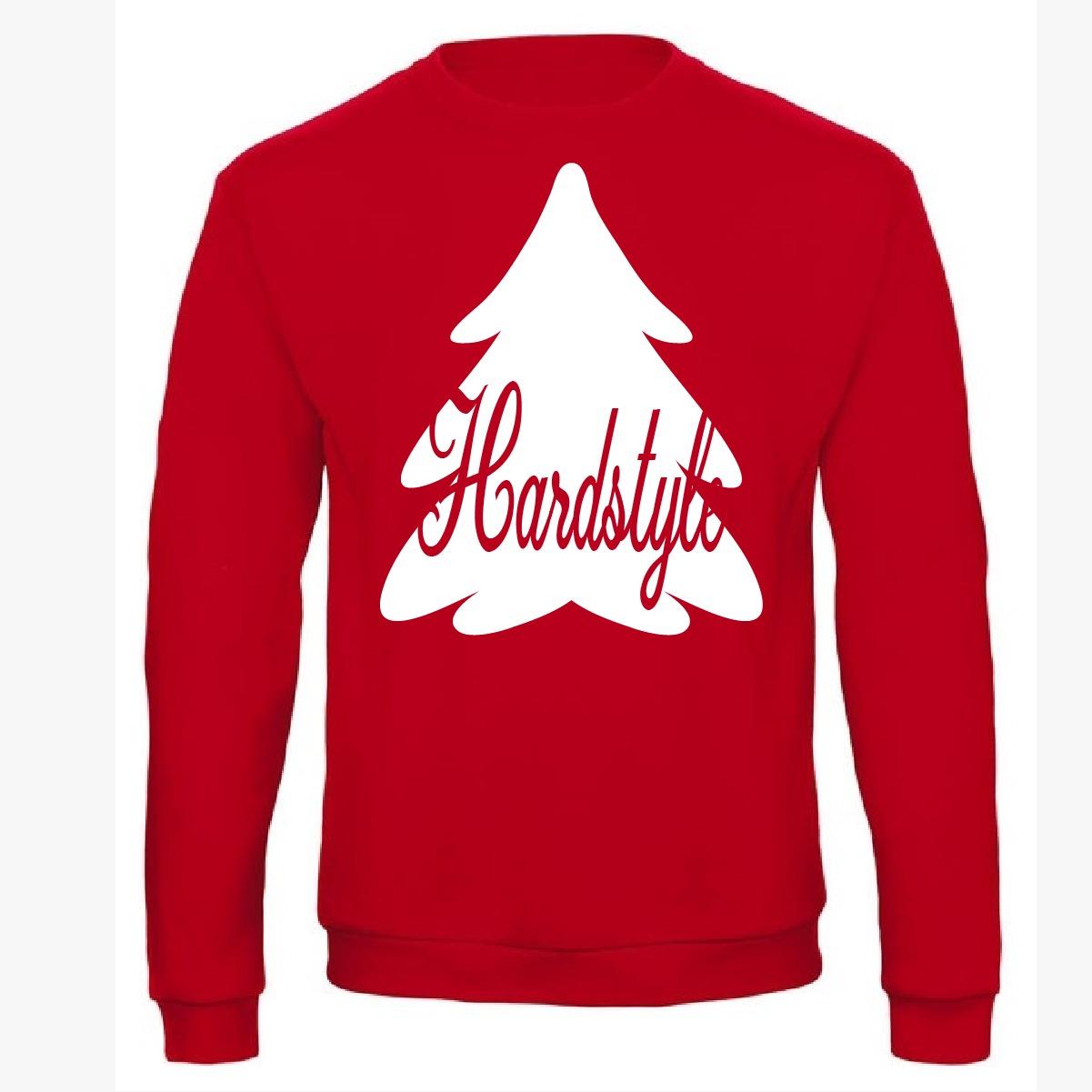 Uniseks Kersttrui.Kersttrui Hardstyle Kerstboom Core Store Nl