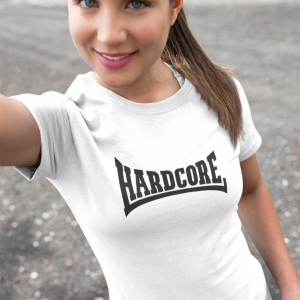 hardcore damesshirt